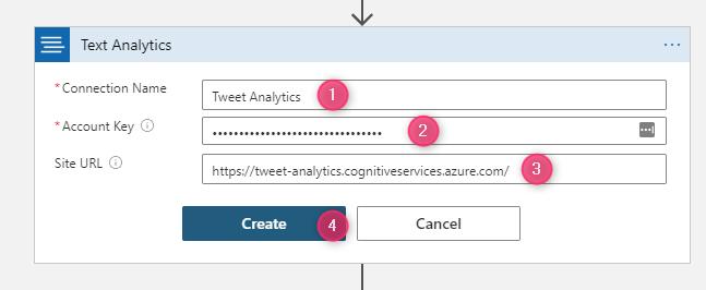 Configure Text Analytics connection